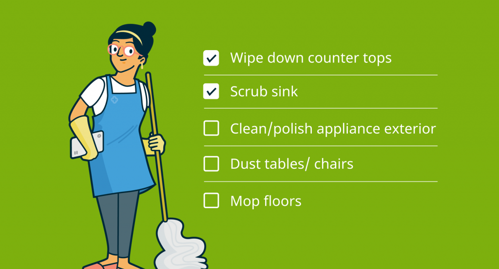 Checklist for hiring a cleaning company